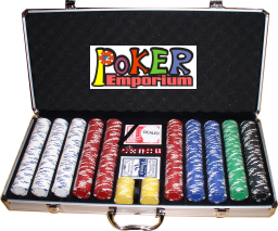 650 Pc. Poker Chip Set / with Quality Poker Chips for quality poker tables